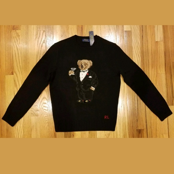 Polo Ralph Lauren Sweaters Ralph Lauren Men Martini Teddy Bear